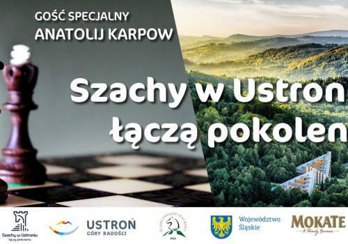Szachy łączą w Ustroniu fot. mat.pras