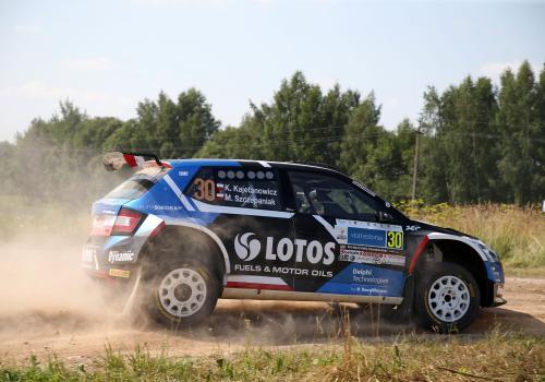Załoga LOTOS Rally Team podczas tegorocznego Rajdu Estonii, mat.pras./kajto.pl