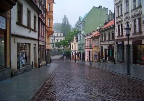 Zdjęcie poglądowe - ostatni odcinek ul. Głębokiej. fot. KR/Ox.pl