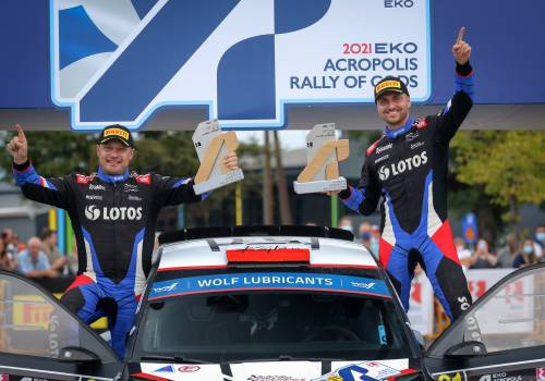 Załoga LOTOS Rally Team tryumfowała w tegorocznym Rajdzie Grecji, fot. kajto.pl