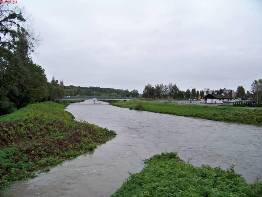 Rzeka Wisła w Skoczowie. Fot. KR/ox.pl