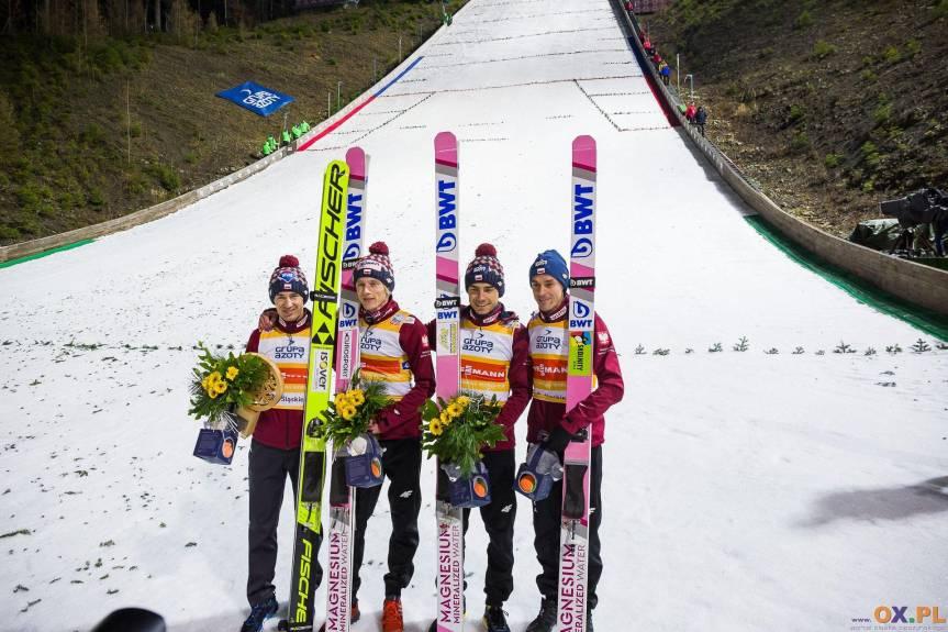 Polacy w ubiegłym sezonie zajęli trzecie miejsce w konkursie drużynowym