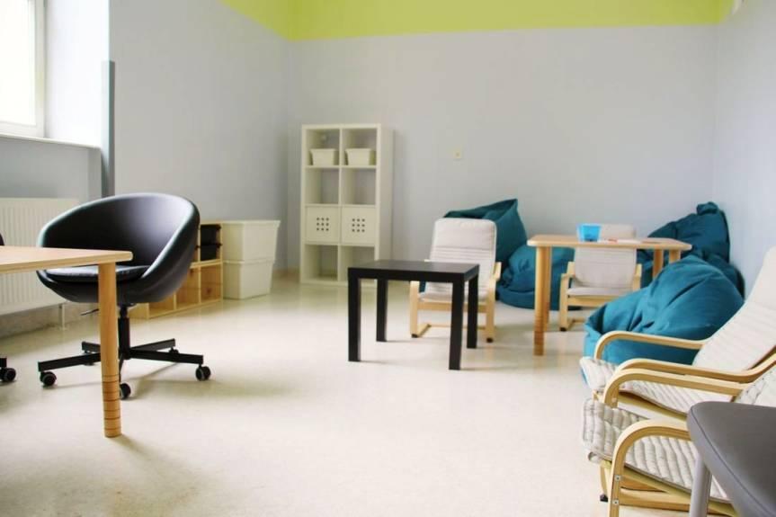Wnętrze jednej z sal terapeutycznych w budynku Szpitala Śląskiego w Cieszynie. Fot. mat. pras.