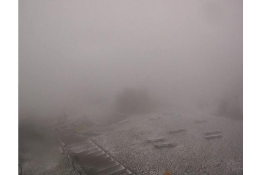 Pierwszy śnieg na Czantorii