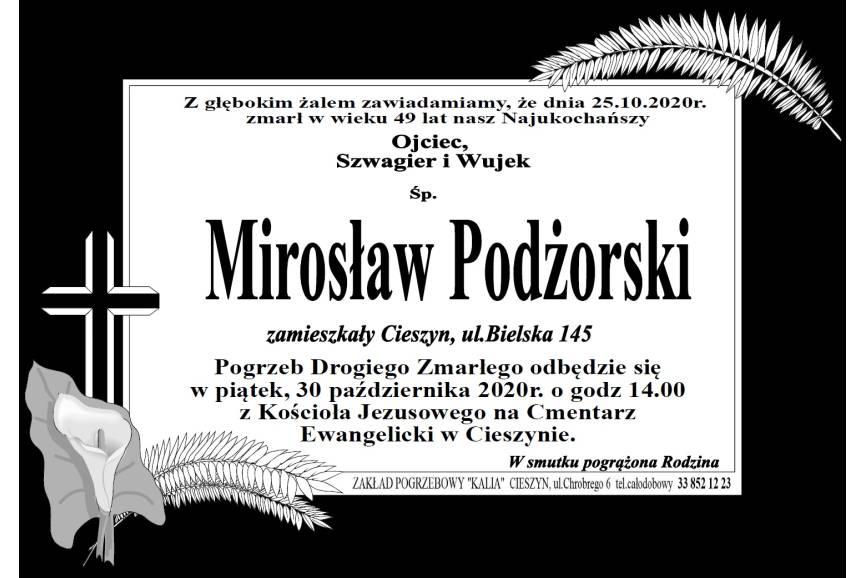 Klepsydra Śp. Mirosława Podżorskiego