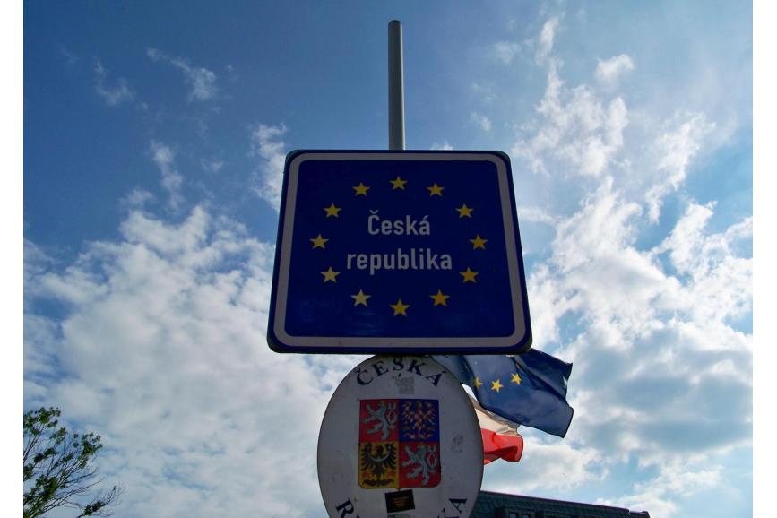 Znak  oznaczający Czeska Republika