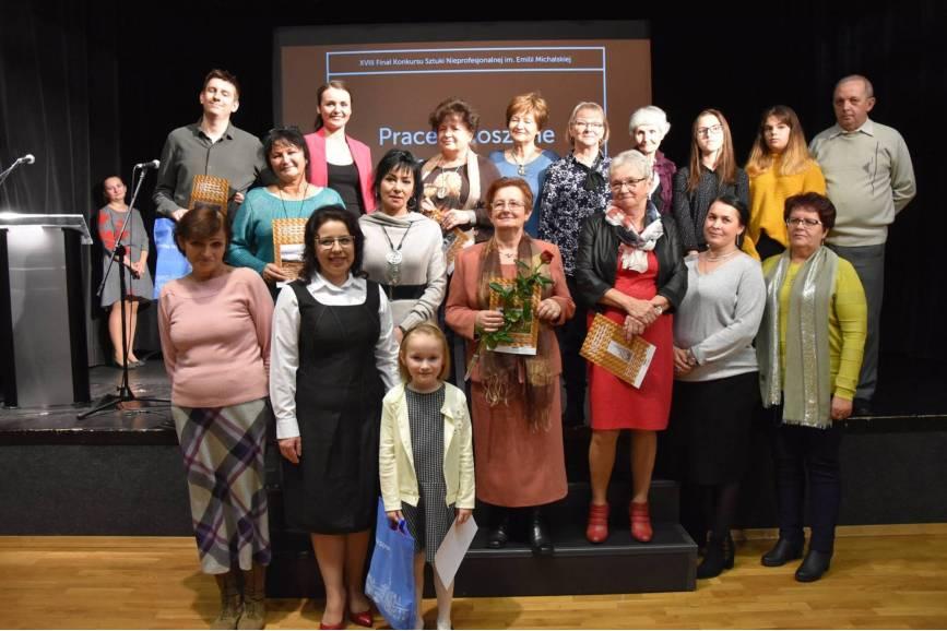 Grupa laureatek konkursu w 2018 roku