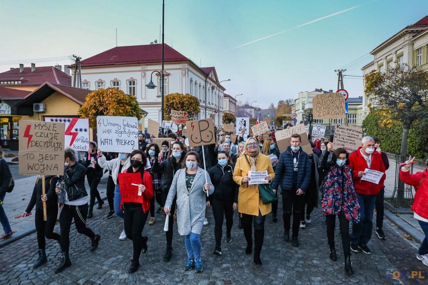 Marsz protestujących